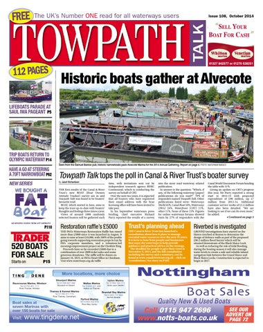 Towpath Talk - October 2014 - FULL ISSUE by Mortons Media Group Ltd ... 0f297bfb3