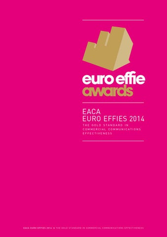 Euroeffie book2014 pages by EACA - issuu 240bcb36d154c