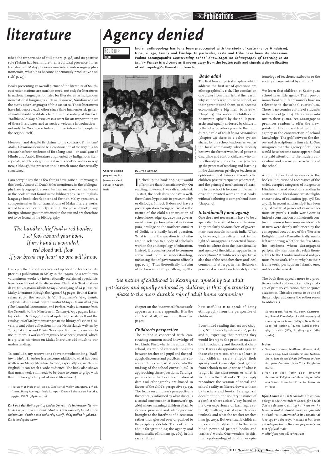 IIAS Newsletter 35 by International Institute for Asian Studies - issuu