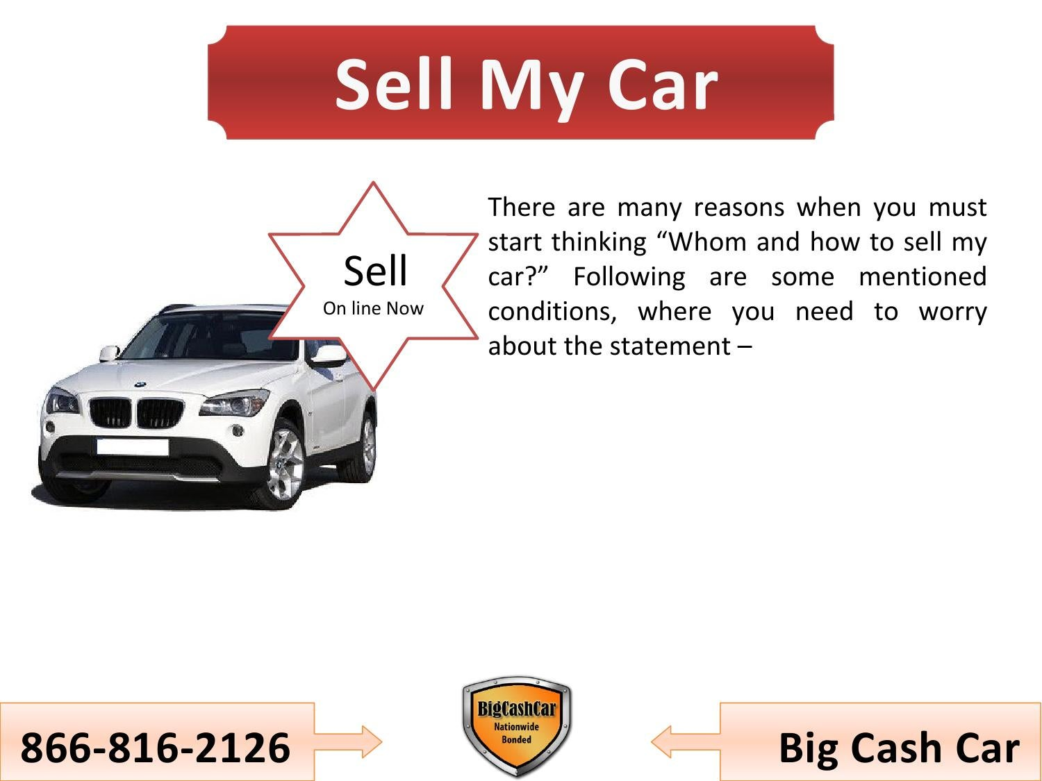 Whom and how to sell my car for Cash ? by Nik Smith - issuu