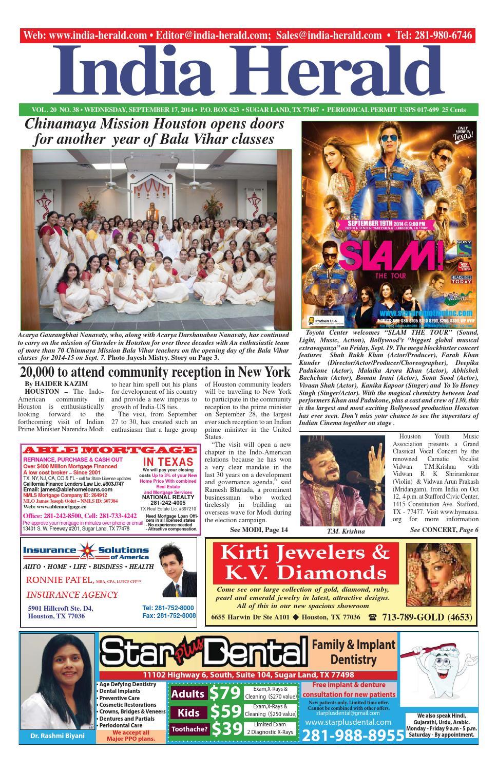 India Herald 091714 By Issuu