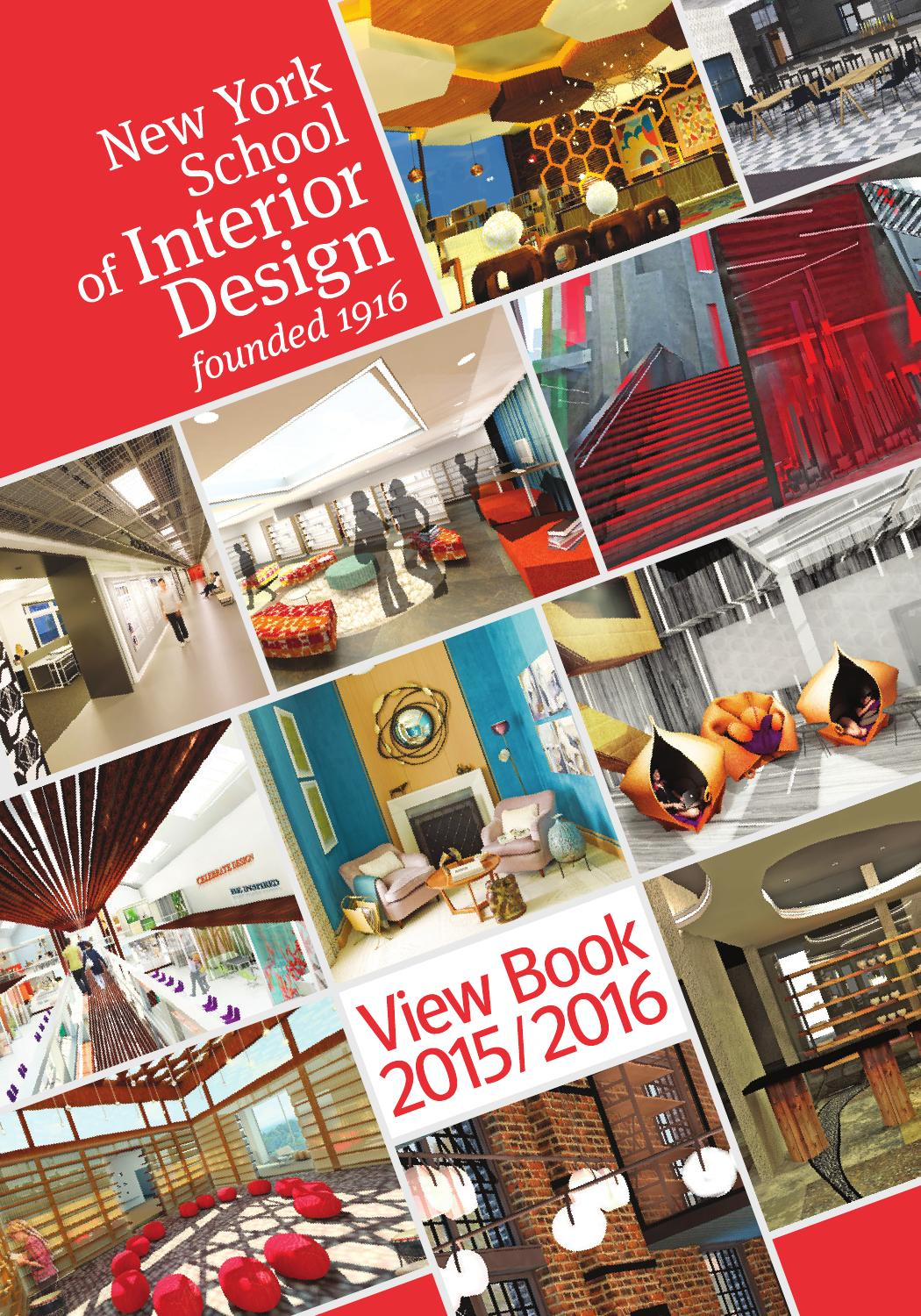 Nysid View Book 2015 2016 By New York School Of Interior Design Issuu