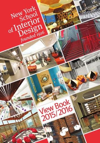Nysid View Book 20152016 By New York School Of Interior Design Issuu