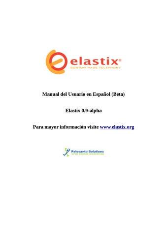 Elastix call center manual es.