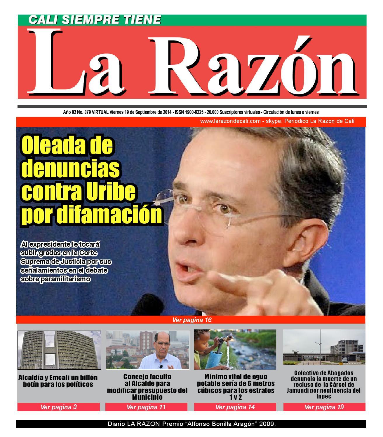 Diario La Raz N Viernes 19 De Septiembre By Edgar Buitrago Rico  # Muebles Renovar Jamundi