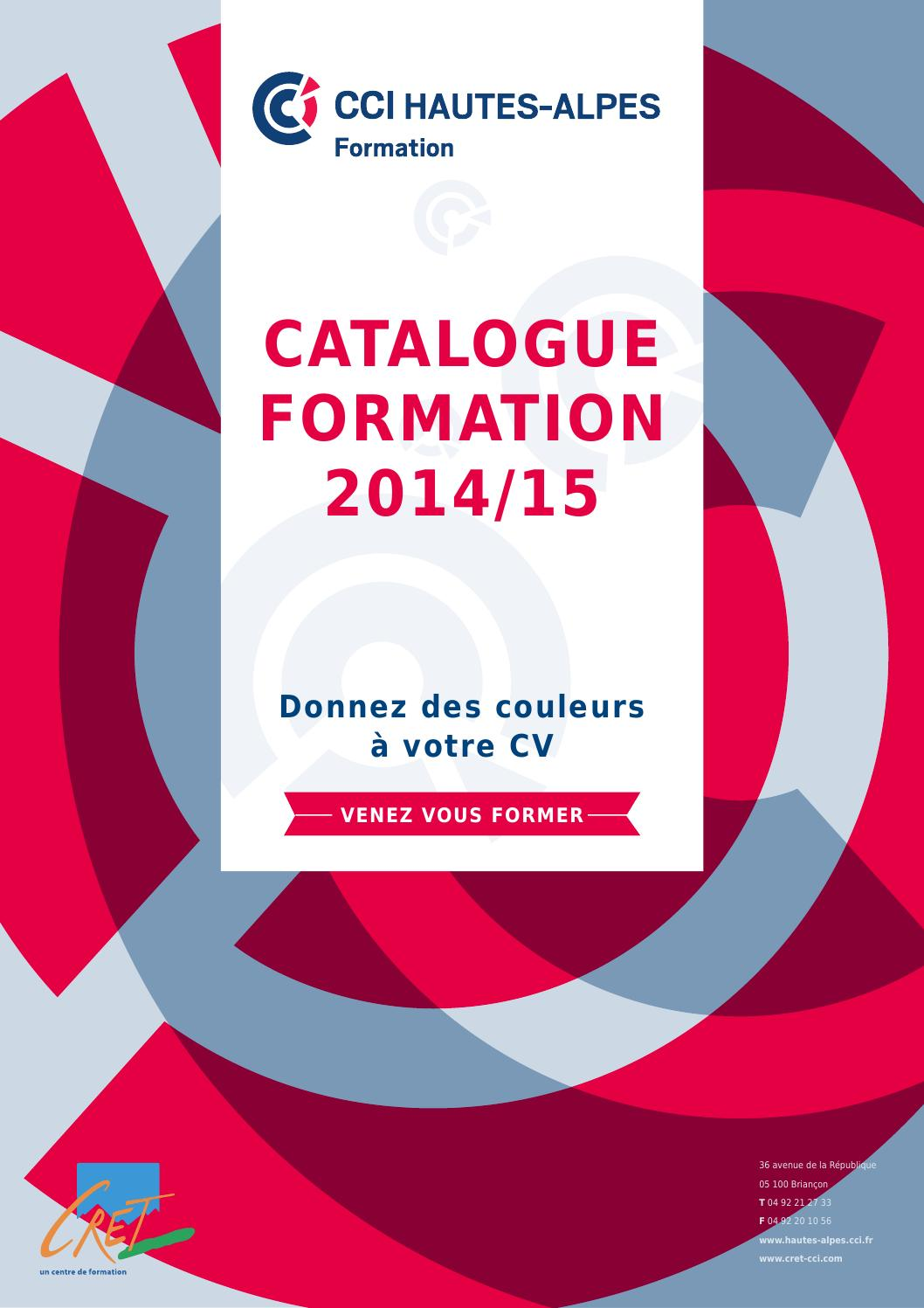 cci hautes-alpes formation 2014-2015 by cret