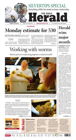 Everett Daily Herald September 19 2014 By Sound Publishing