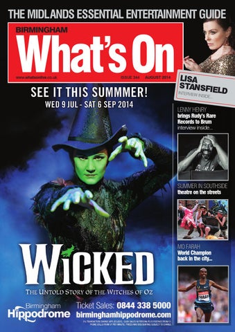 Whats On August 2014 By Whats On Magazine For Birmingham