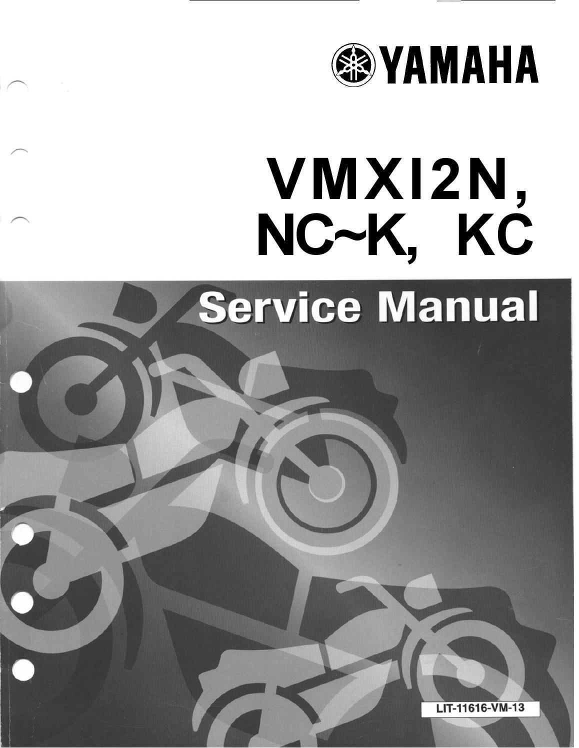 Yamaha Vmax Vmx12 Service Manual By Shhansen Issuu 225 Wiring Diagram