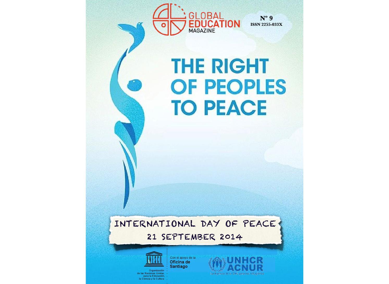 Global Education Magazine: International Day of Peace (21st sept ...