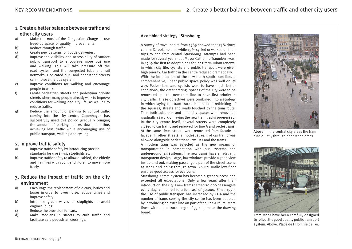 Towards a fine City for People by Gehl - Making Cities for People