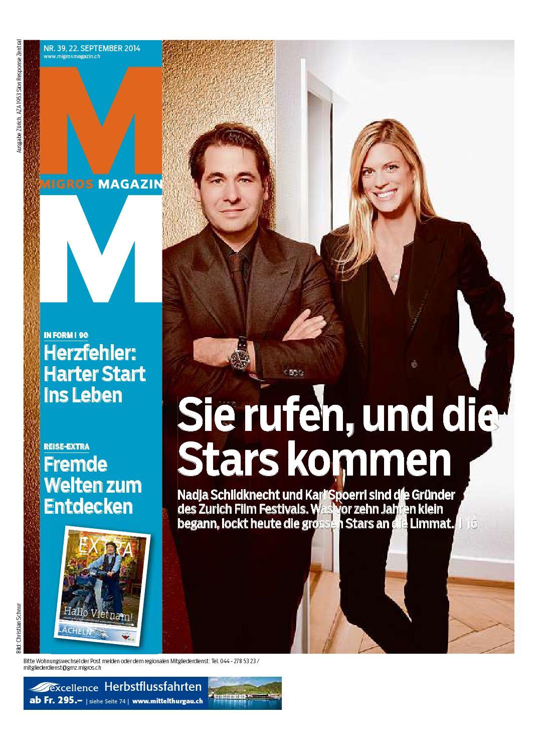 Migros magazin 39 2014 d zh by Migros-Genossenschafts-Bund - issuu