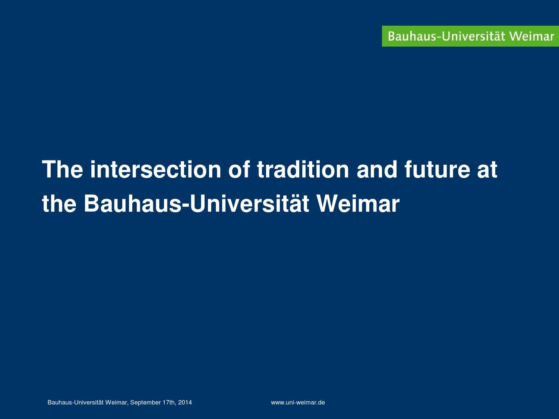 Bauhaus Universitat Weimar Elop 7 By Elop Project Issuu