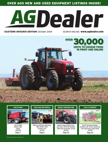 AGDealer Eastern Ontario Edition, October 2014 by Farm