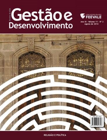 Revista gesto e desenvolvimento agosto 2014 by universidade page 1 fandeluxe Choice Image