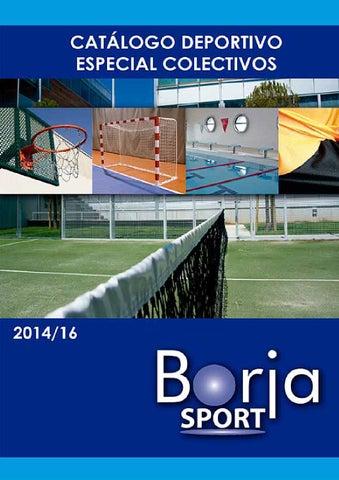 19b8d576c Catálogo Deportivo Especial Colectivos - BorjaSport -