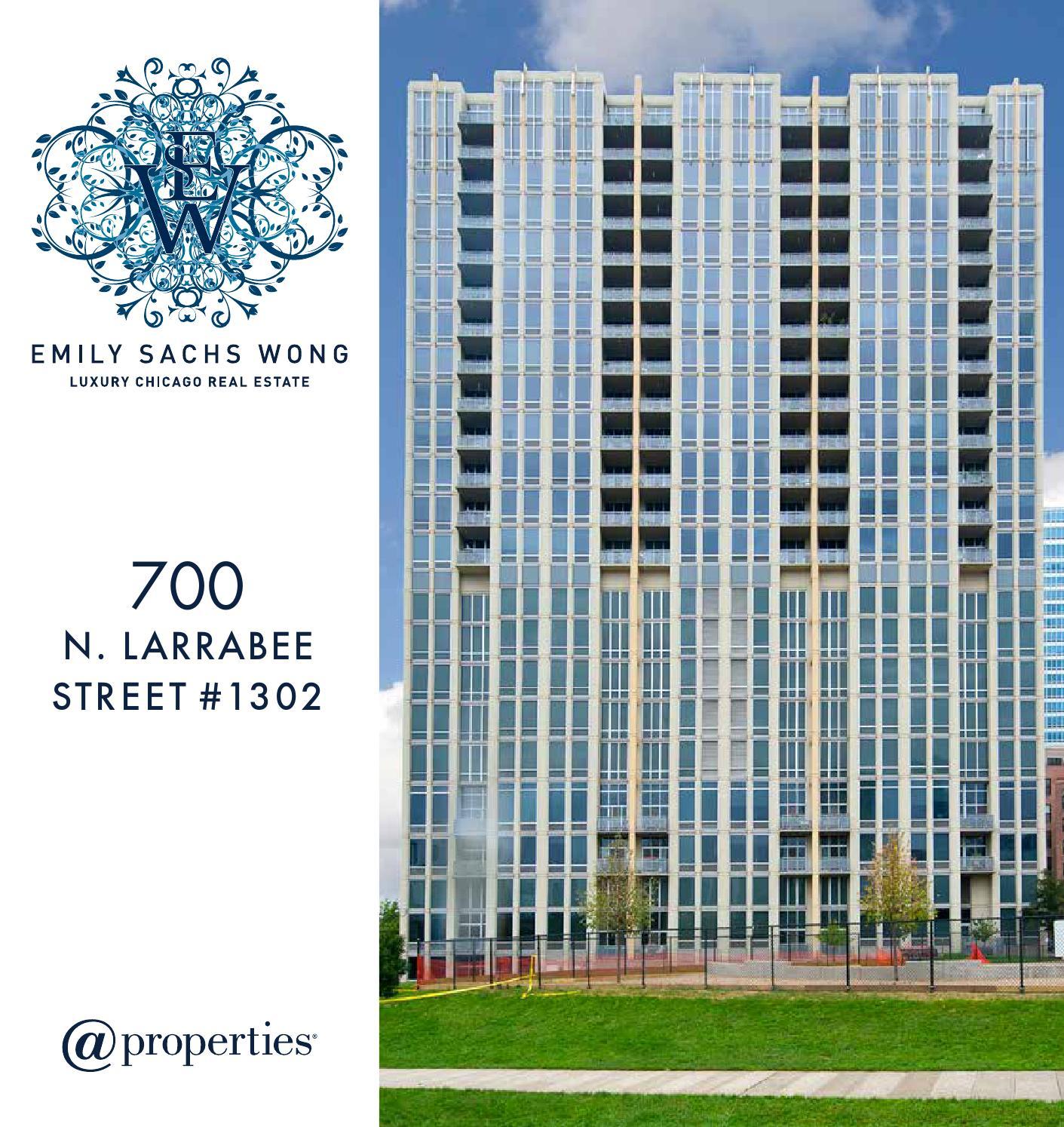 700 N Larrabee St 1302 Marketing Brochure By Properties