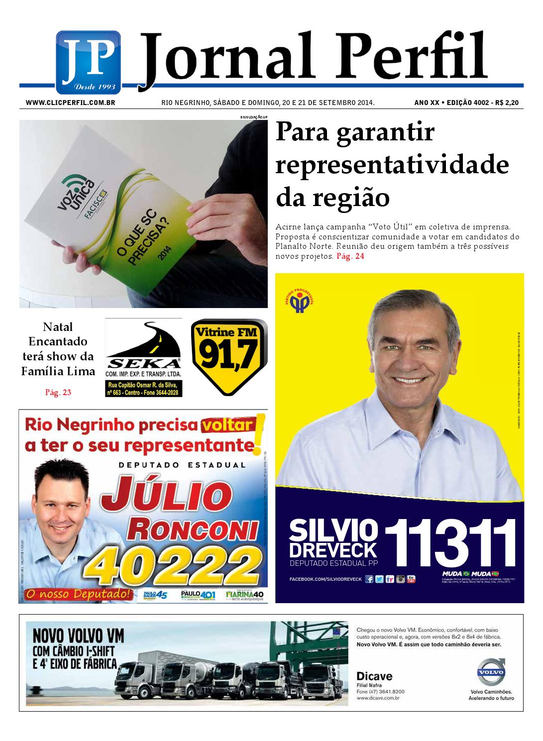 c2333e0c0c Jornal perfil 20 09 14 by ClicPerfil - issuu