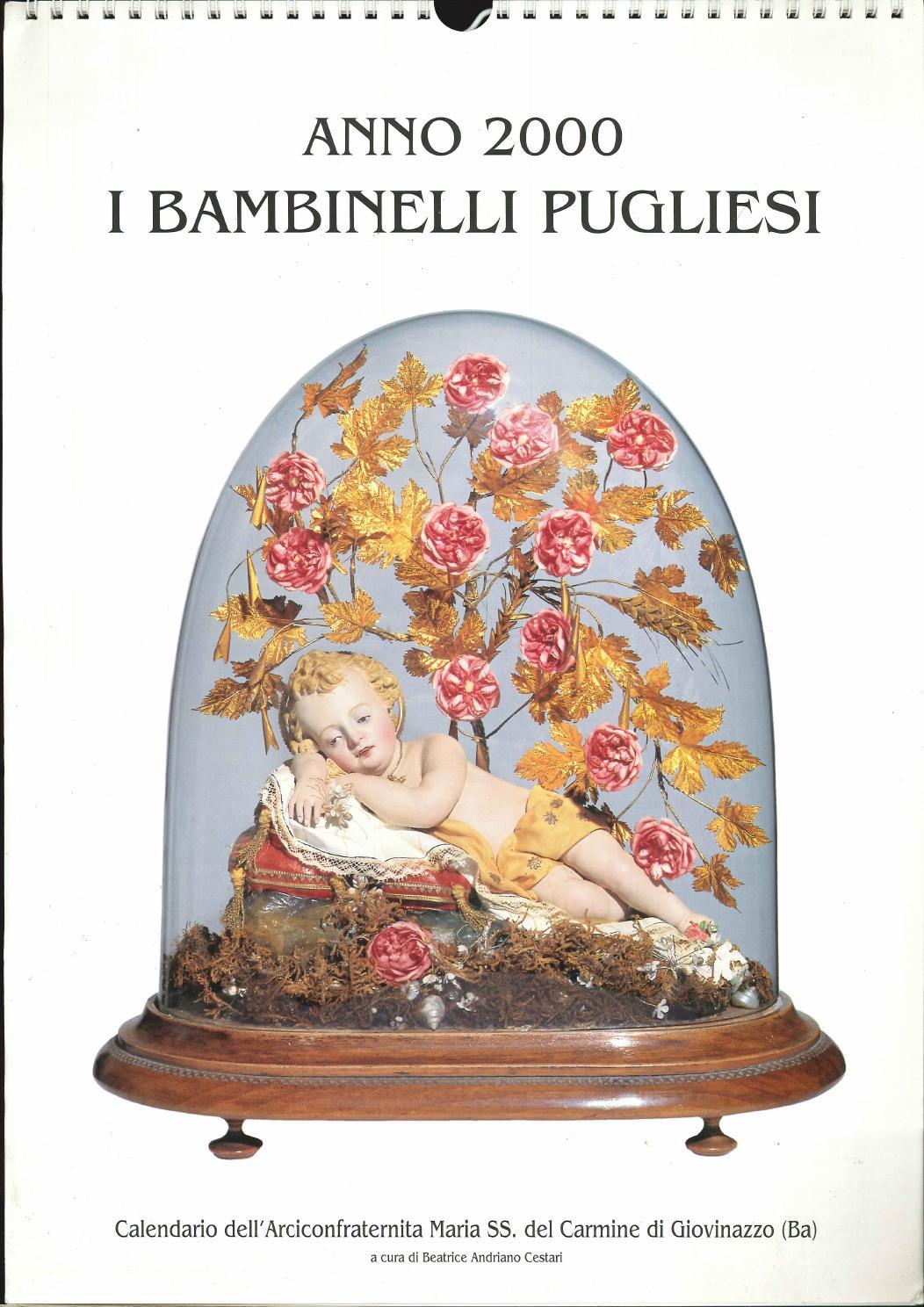 Calendario Del 2000.Calendario Anno 2000 By Incitta Giovinazzo Issuu