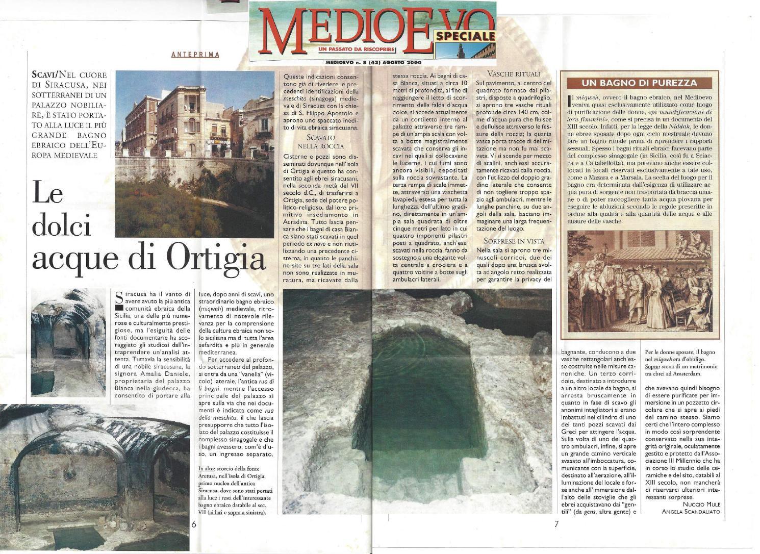 Medioevo%20agosto2000 025 compressed by bagno ebraico siracusa issuu