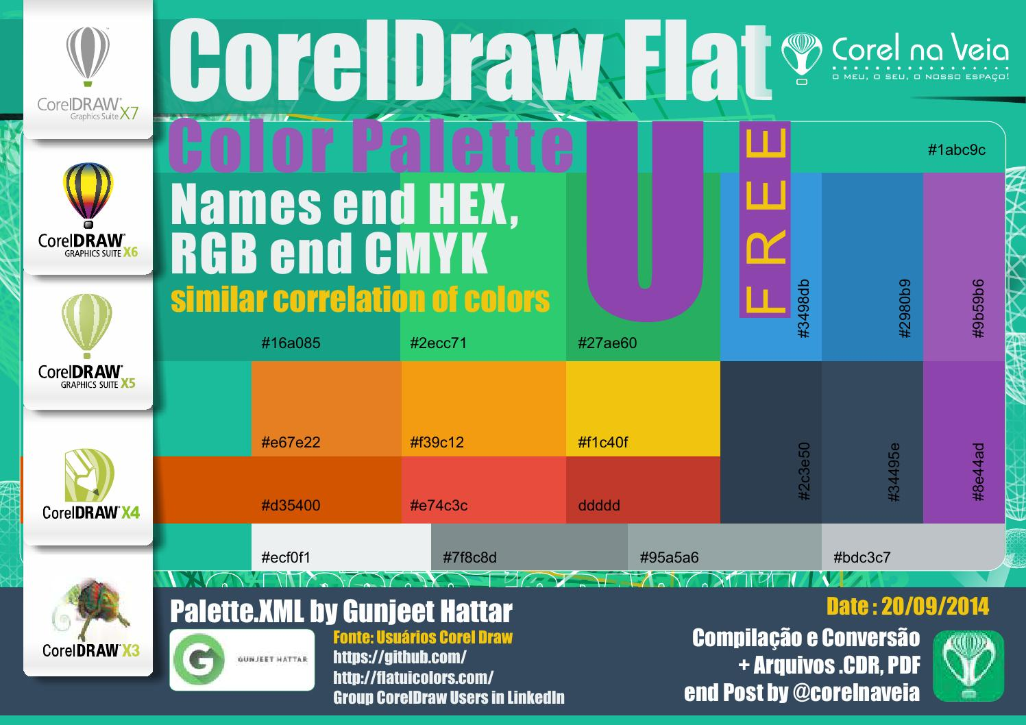 Coreldraw color palette free download - Coreldraw Flat Ui Color Palette Xml End Cdr Pdf Free By Leo Silveira Issuu