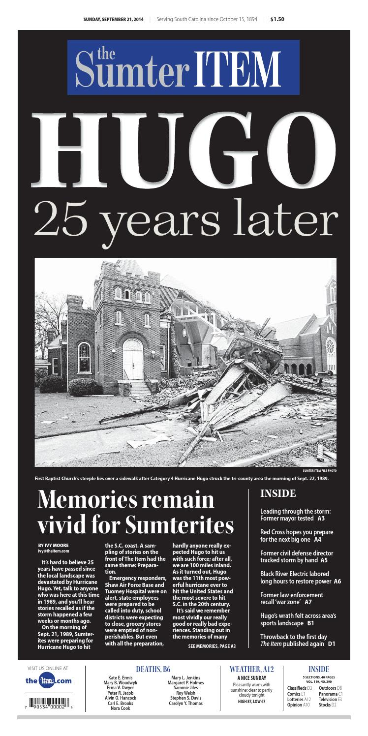 September 21 2014 by The Sumter Item issuu