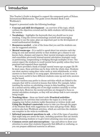 Nelson international maths teacher guide 5 by hany mufeid
