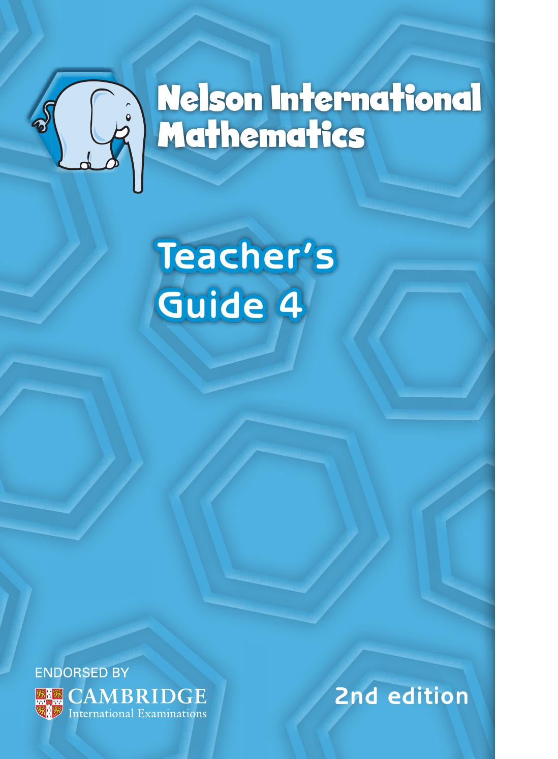 Nelson international maths teacher guide 4 by hany mufeid - issuu