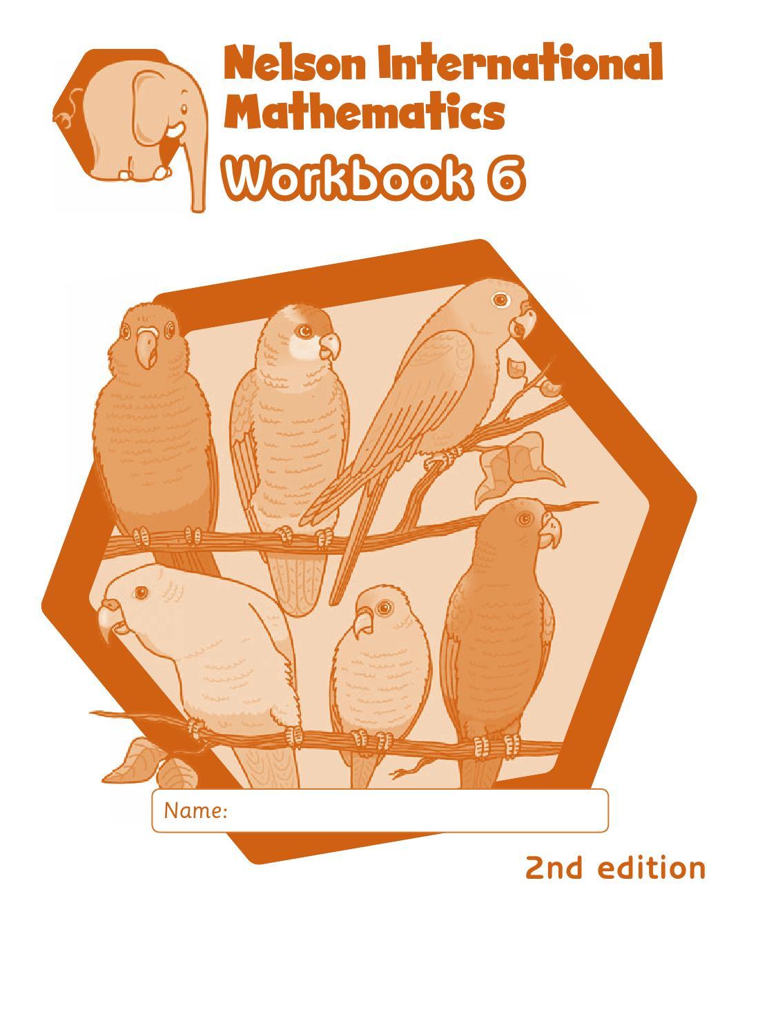 Workbooks nelson math grade 5 workbook : Nelson international maths workbook 6 answers by hany mufeid - issuu