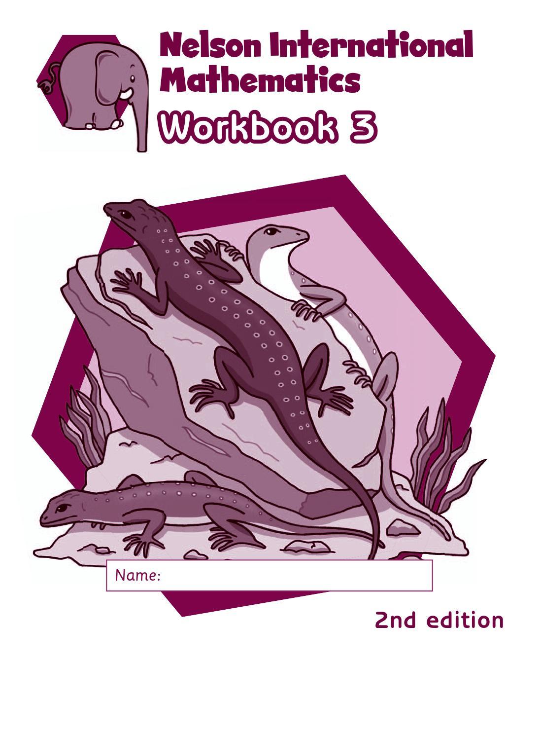 Workbooks nelson math grade 5 workbook : Nelson international maths workbook 3 answers by hany mufeid - issuu
