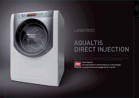 lavatrici e lavasciuga hotpoint ariston by ata snc issuu. Black Bedroom Furniture Sets. Home Design Ideas