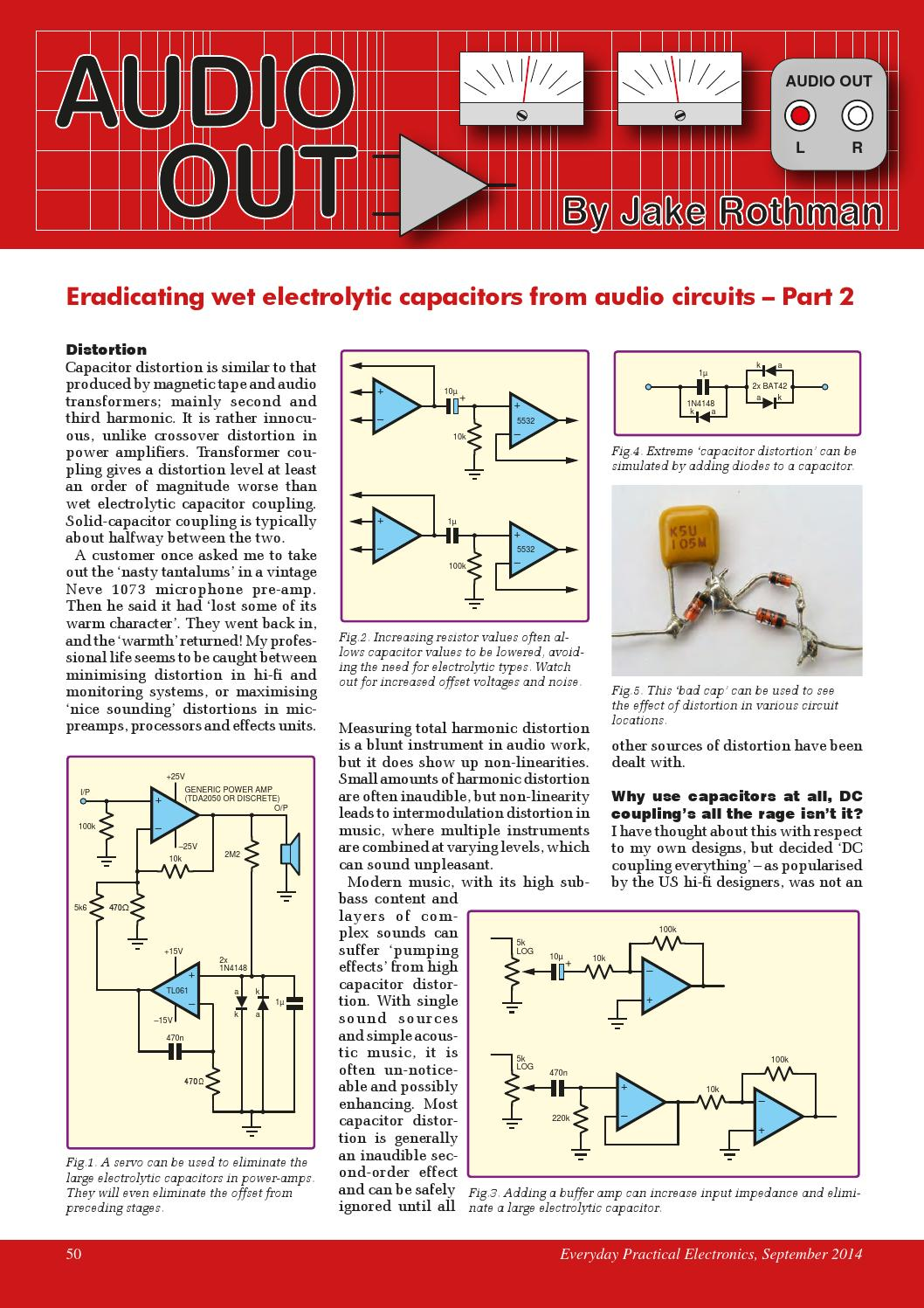 Everyday Practical Electronics 2014 09 By Yurgen Issuu Figure 1 Tda2050 Typical Hifi Amplifier Schematic