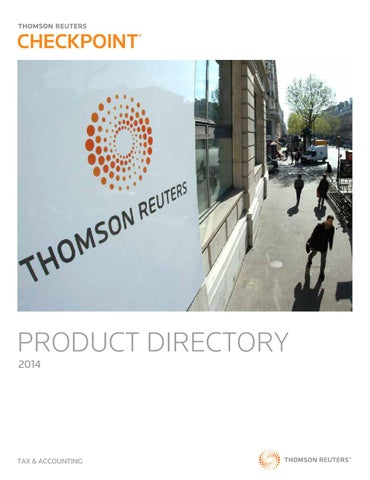 Checkpoint directory 2014 by khosley issuu product directory 2014 tax accounting fandeluxe Images