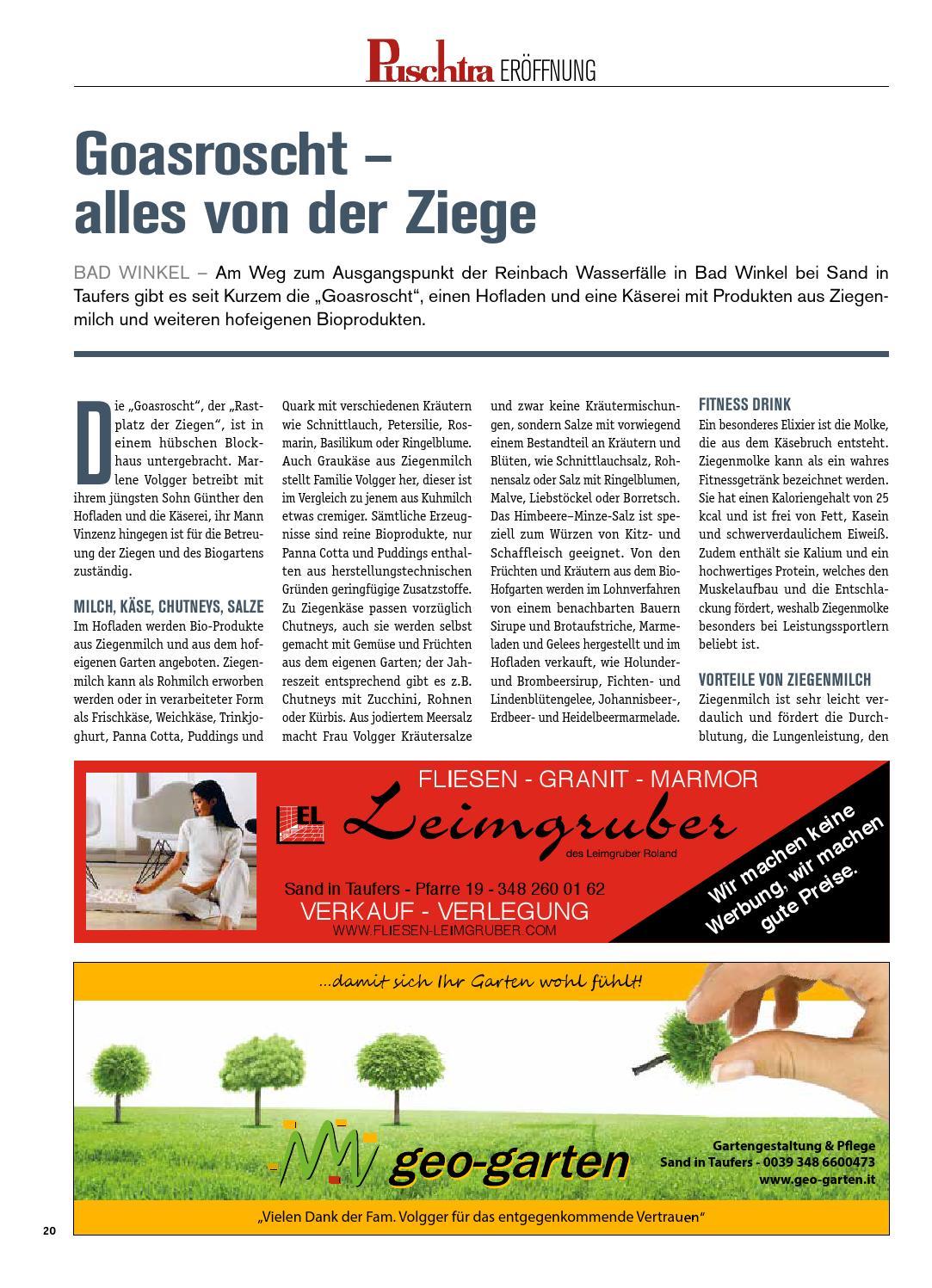 Puschtra Nr. 18 vom 24.09.2014 by Bezirksmedien GmbH - issuu