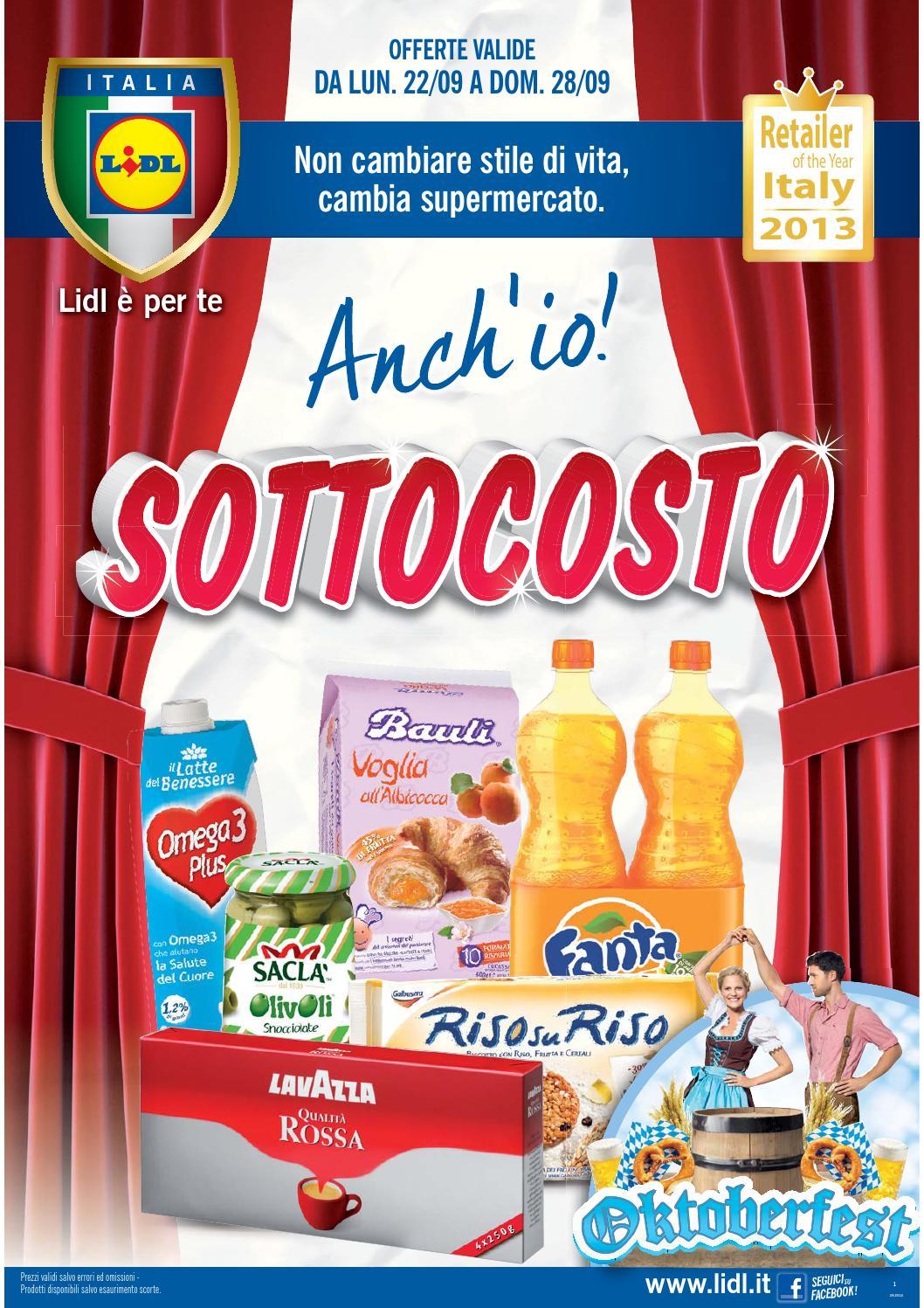 Lidl volantino 22 28settembre2014 by catalogopromozioni for Volantino lidl domodossola