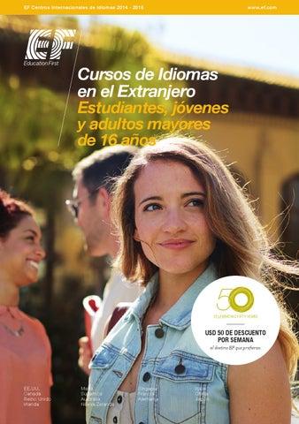 EF Centros Internacionales de Idiomas 2014 - 2015 7cd7704f12d