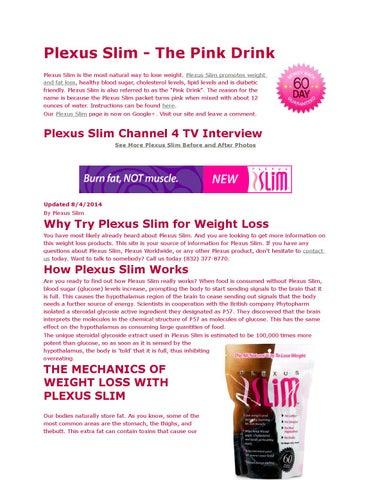 Plexus Slim The Pink Drink By Rihanastewart Issuu