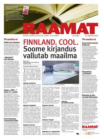 2edc85c0576 Ajaleht Raamat (september 2014) by Kaidi Urmet - issuu