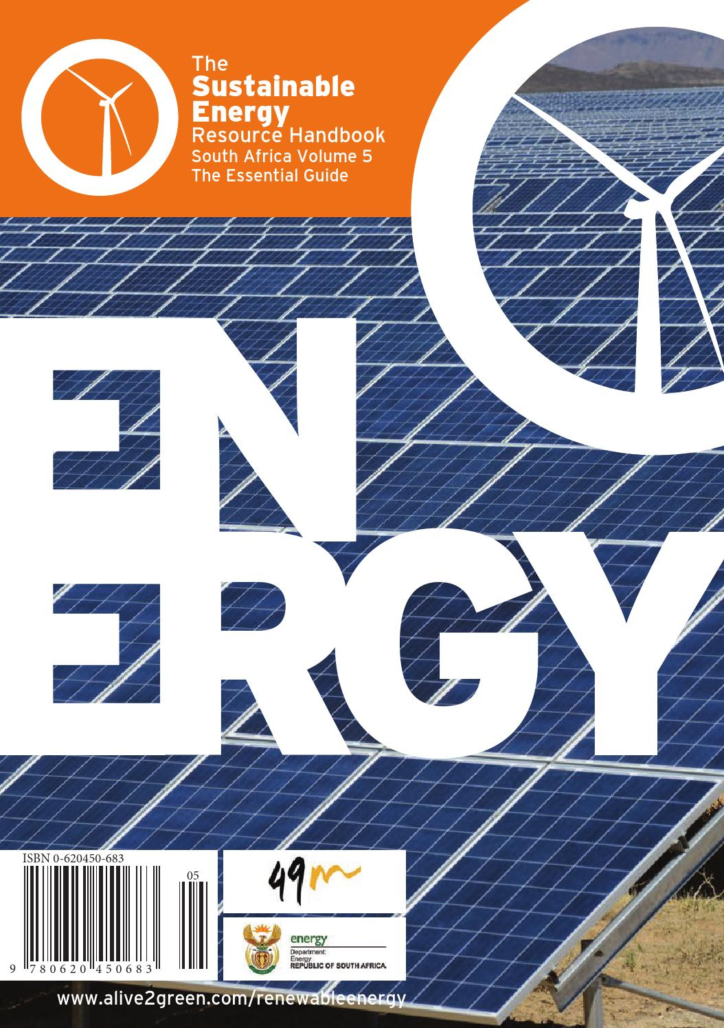 The Sustainable Energy Resource Handbook South Africa Volume 5 By Inverter Circuit Of Induction Heating Rice Cooker Google Patents Alive2green Issuu