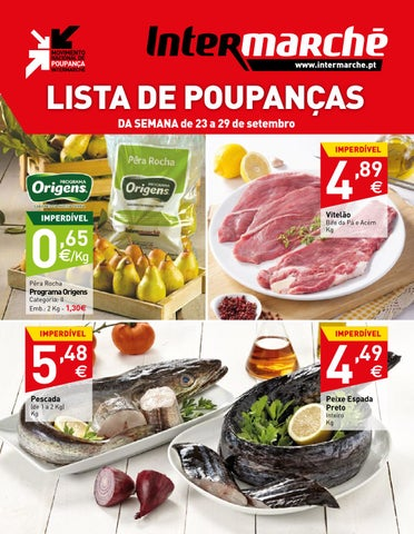 13ebe2b02 Folheto 23-29.09.2014 (Lourinhã-Peniche) by Intermarché Oeste - issuu