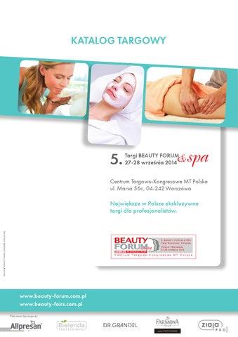 Katalog Targi Beauty Forum Spa Hair Forum By Kamila Jadwicka Issuu