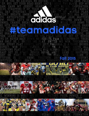 Adidas Team Fall 2014 Catalog by SquadLocker - issuu 927e5c07f6271