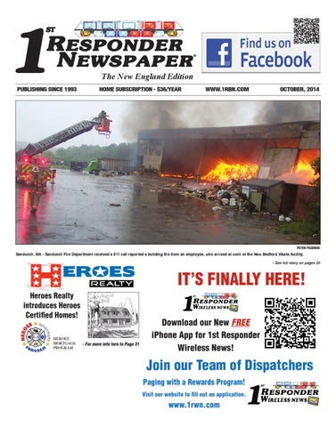 1st Responder New England October by Belsito Communications Inc  - issuu