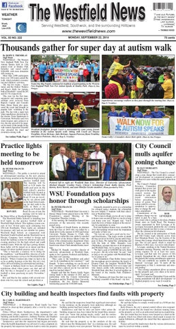 Monday, September 22, 2014 by The Westfield News - issuu