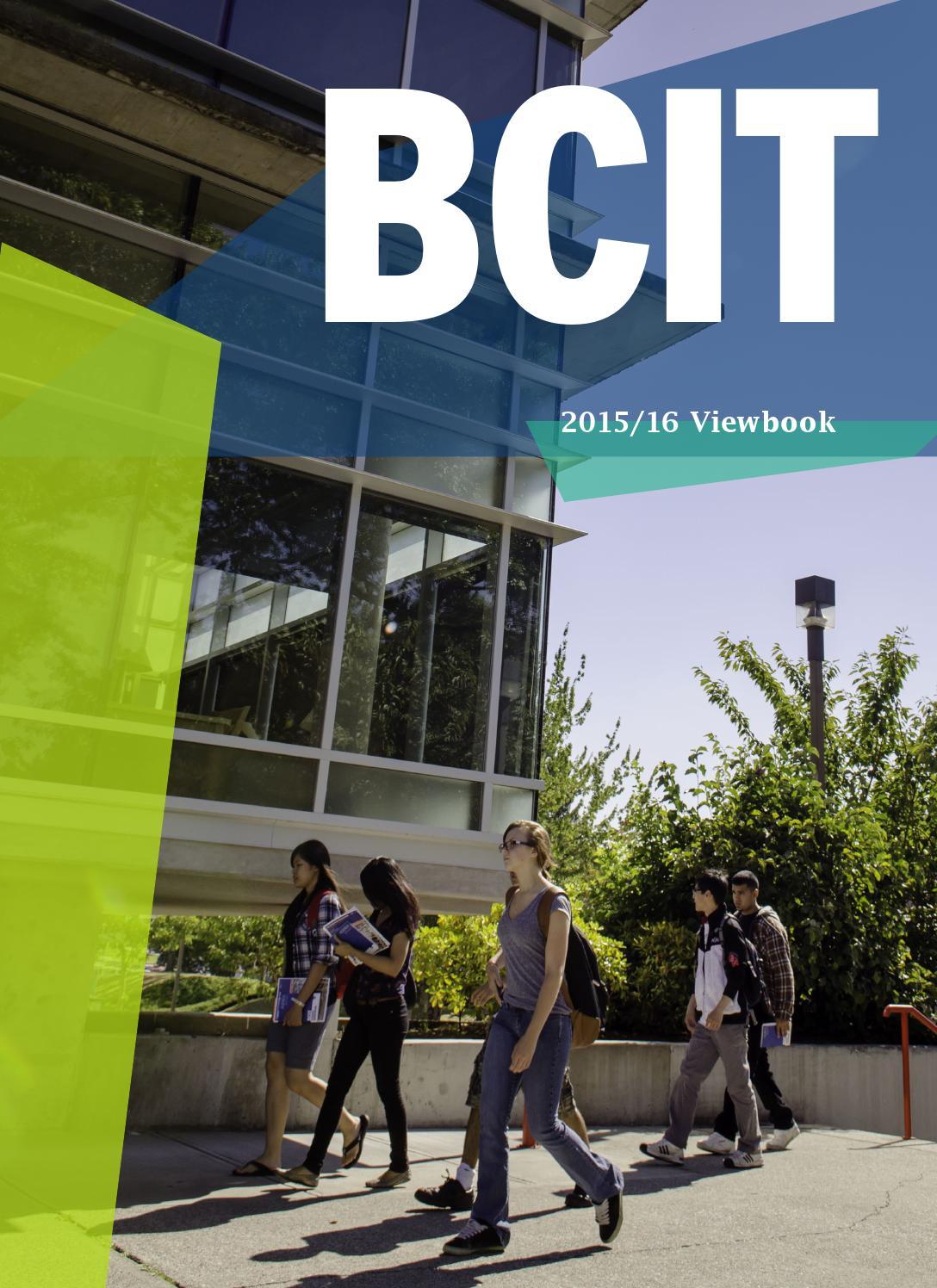 Bcit Viewbook 2015 2016 By Bcit Issuu