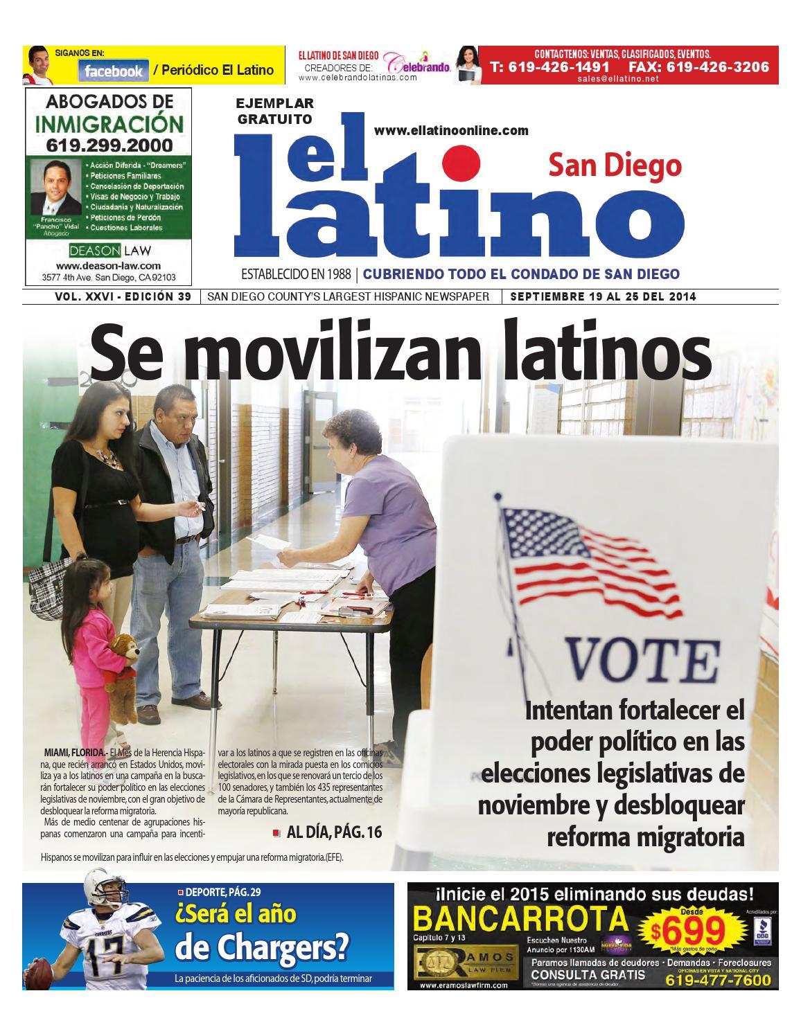El Latino de San Diego Newspaper by El Latino San Diego Newspaper ...