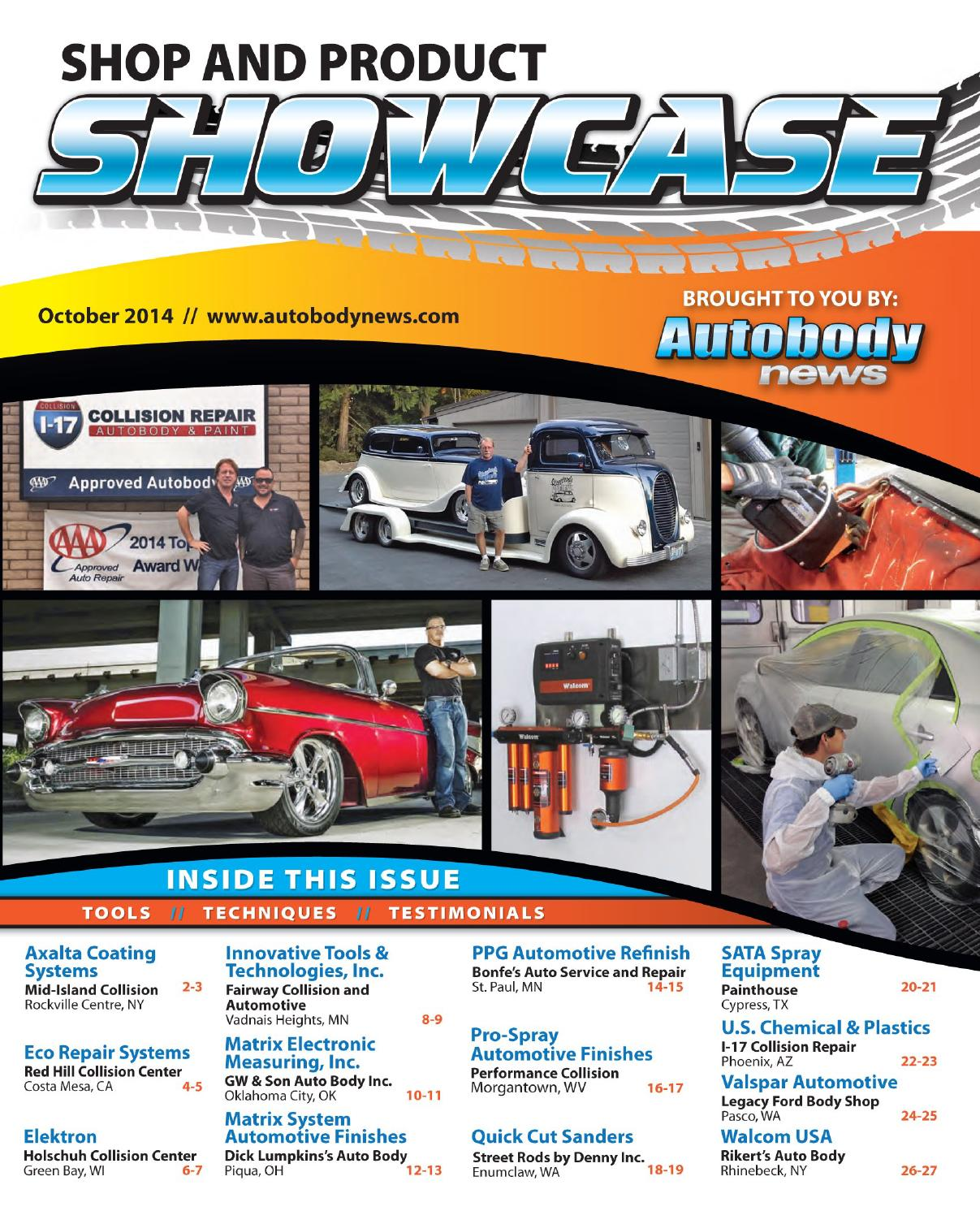 Shop Product Showcase October 2014 By Autobody News Issuu