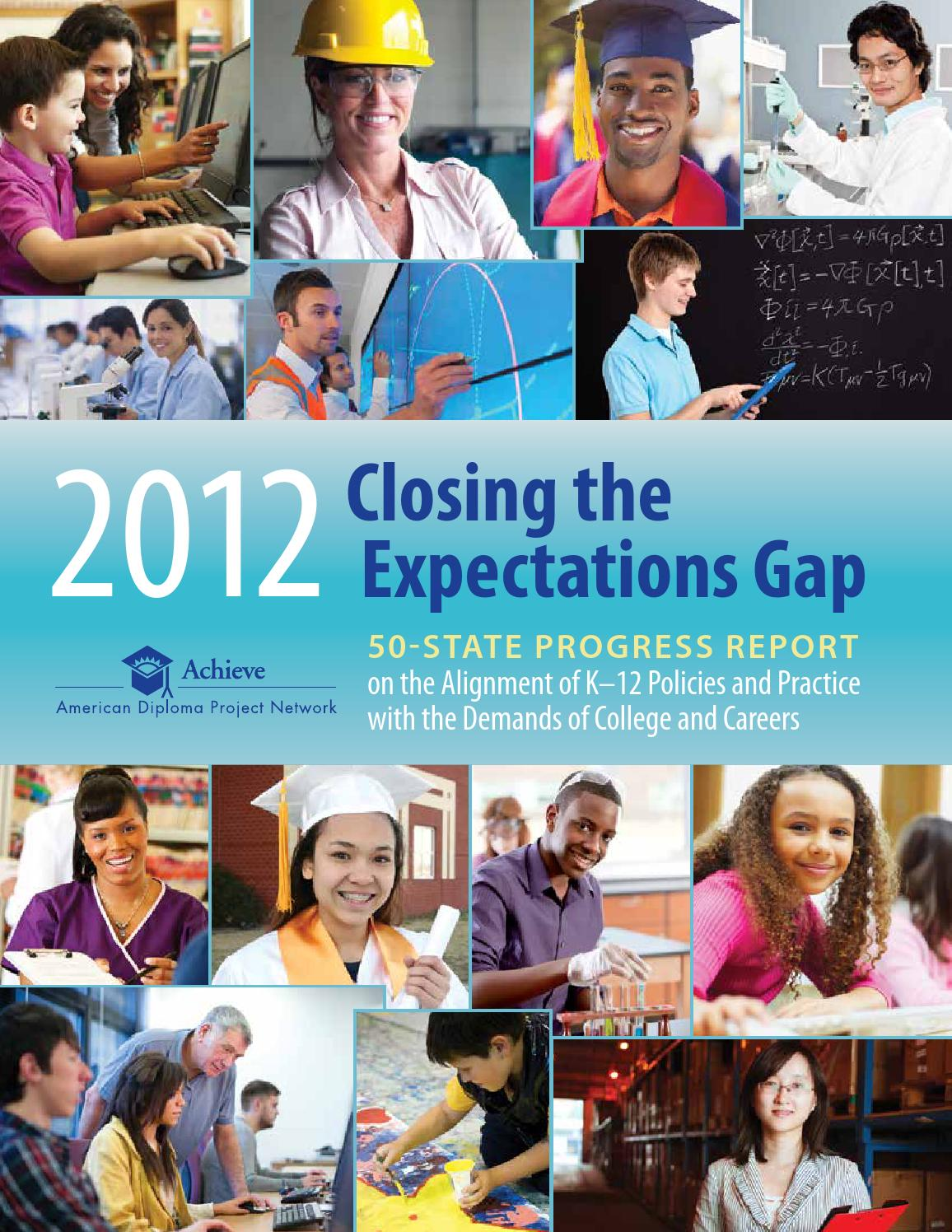 Closing the Expectations Gap 2012