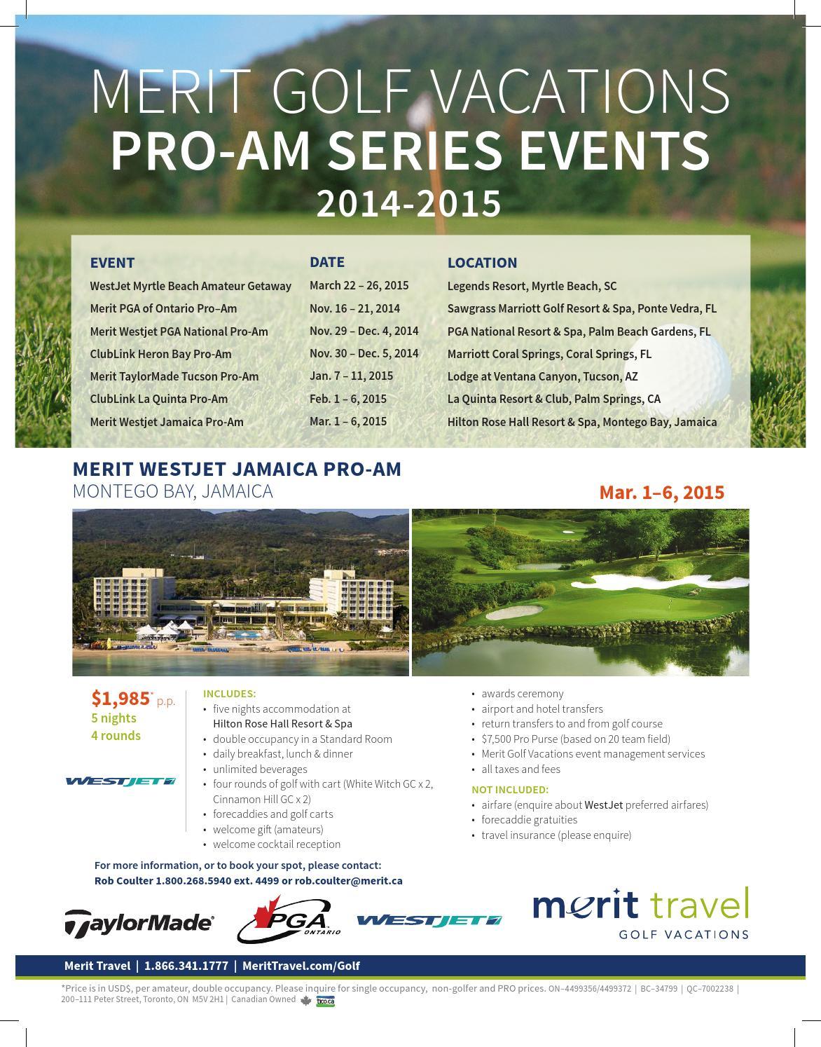 Merit Golf Vacaitons 2014-2015 Events by MERIT GOLF & SKI VACATIONS ...
