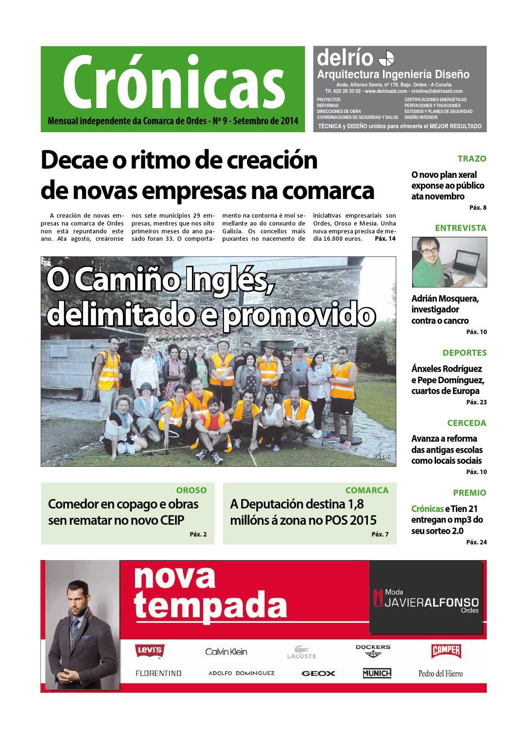 Cronicas Comarcadeordes N9 Setembro2014 By Cr Nicas Peri Dico  # Muebles Visantona